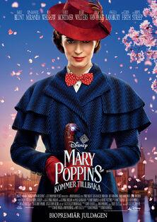 Disney's Mary Poppins Returns Swedish Poster