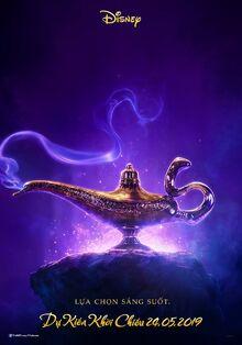 Disney's Aladdin 2019 Vietnamese Teaser Poster
