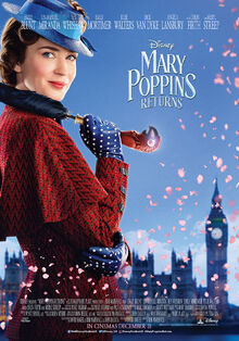 Disney's Mary Poppins Returns Poster 3