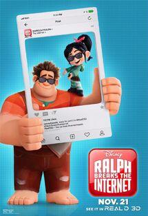 Disney's Ralph Breaks the Internet Poster 4