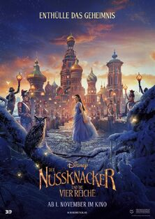 Disney's The Nutcracker and the Four Realms German Poster