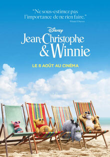 Disney's Christopher Robin European French Poster 2