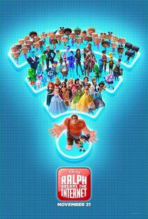 Disney's Ralph Breaks the Internet Poster 2