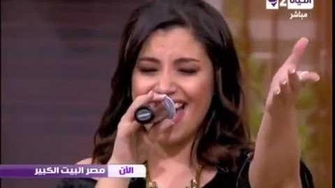 """Nesma Mahgoub singing """"Let It Go"""" live in English and Arabic 2014"""