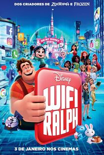 Disney's Ralph Breaks the Internet Brazilian Portuguese Poster 2