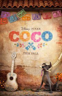 Pixar's Coco Teaser Poster