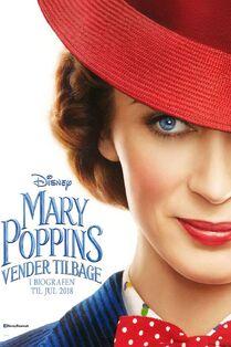 Disney's Mary Poppins Returns Danish Teaser Poster