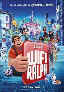Disney's Ralph Breaks the Internet Latin American Spanish Poster 3