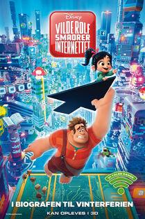Disney's Ralph Breaks the Internet Danish Poster