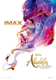 Disney's Aladdin 2019 Vietnamese IMAX Poster