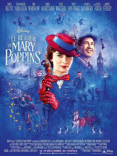 Disney's Mary Poppins Returns European French Poster