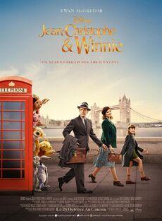 Disney's Christopher Robin European French Poster 3