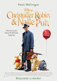 Disney's Christopher Robin Swedish Poster