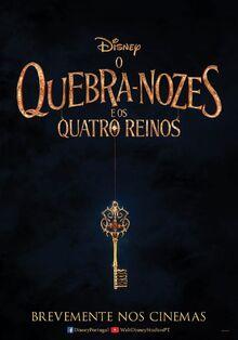 Disney's The Nutcracker and the Four Realms European Portuguese Teaser Poster