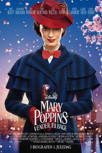 Disney's Mary Poppins Returns Danish Poster