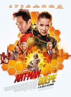 Ant-Man and the Wasp European French Poster