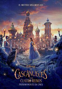 Disney's The Nutcracker and the Four Realms European Spanish Poster 2