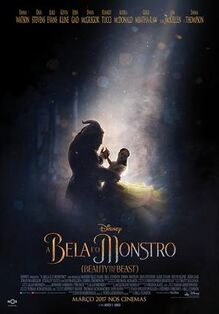 Disney's Beauty and the Beast 2017 European Portuguese Poster