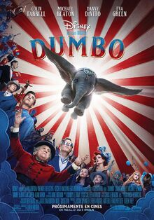 Disney's Dumbo 2019 European Spanish Poster