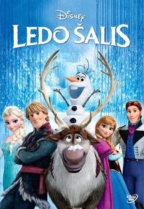 Disney's Frozen Lithuanian DVD Poster