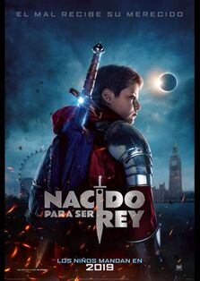 The Kid Who Would Be King Latin American Spanish Teaser Poster