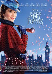 Disney's Mary Poppins Returns European Spanish Poster 2