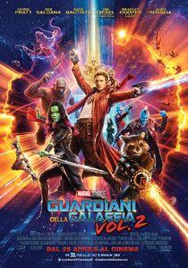 Marvel Studios' Guardians of the Galaxy Vol. 2 Italian Poster