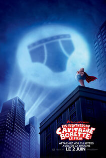 Captain Underpants The First Epic Movie Canadian French Poster