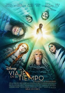 Disney's A Wrinkle in Time 2018 Latin American Spanish Poster