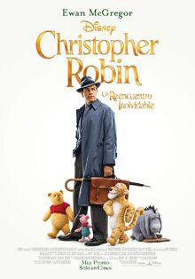 Disney's Christopher Robin Latin American Spanish Poster