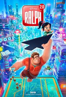 Disney's Ralph Breaks the Internet European French Poster 2