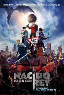 The Kid Who Would Be King Latin American Spanish Poster