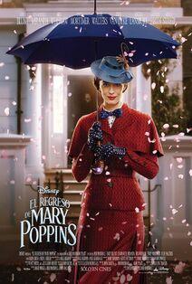 Disney's Mary Poppins Returns Latin American Spanish Poster 2