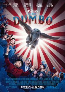 Disney's Dumbo 2019 Swedish Poster