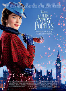 Disney's Mary Poppins Returns European French Poster 4