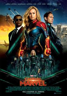 Marvel Studios' Captain Marvel Italian Poster