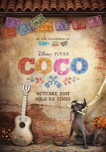 Pixar's Coco Spanish Teaser Poster