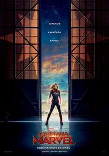 Marvel Studios' Captain Marvel European Spanish Teaser Poster