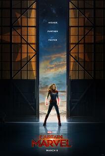 Marvel Studios' Captain Marvel Teaser Poster