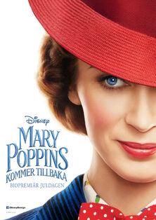 Disney's Mary Poppins Returns Swedish Teaser Poster