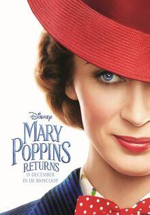 Disney's Mary Poppins Returns Dutch Teaser Poster