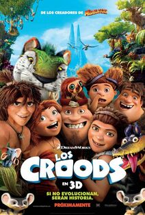 The Croods Latin American Spanish Poster