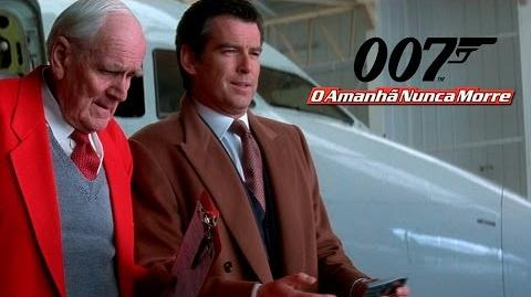 007 O Amanhã Nunca Morre- Tres Dublagens (VHS, DVD e Televisão)