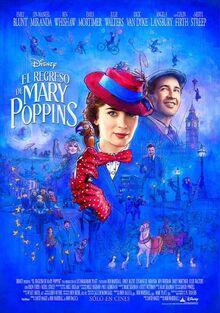 Disney's Mary Poppins Returns Latin American Spanish Poster