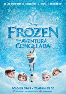Frozen Latin Spanish Poster 2