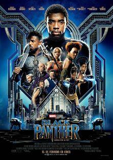 Marvel Studios' Black Panther European Spanish Poster
