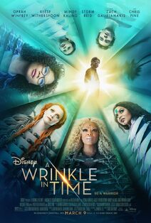Disney's A Wrinkle in Time 2018 Poster