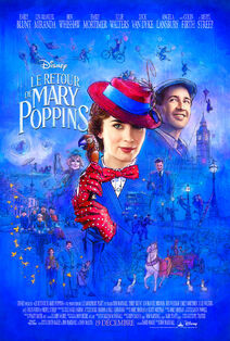 Disney's Mary Poppins Returns Canadian French Poster