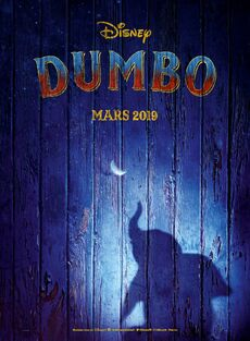 Disney's Dumbo 2019 European French Teaser Poster