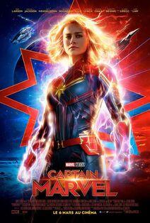 Marvel Studios' Captain Marvel European French Poster